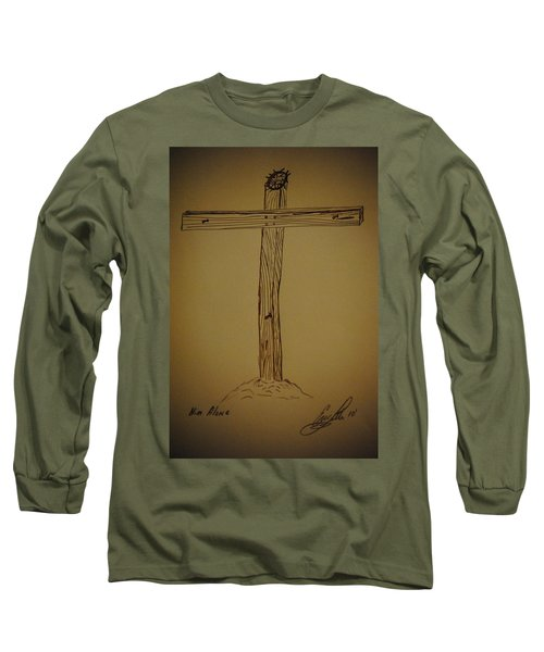 Him Alone Long Sleeve T-Shirt