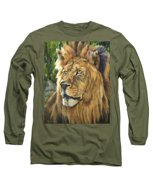 Him - Lion Long Sleeve T-Shirt
