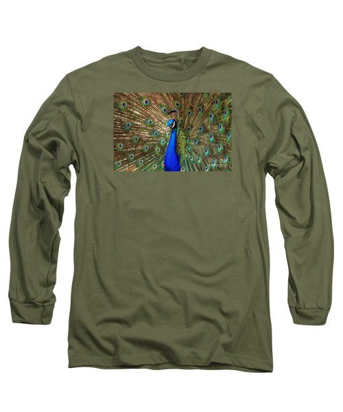 Long Sleeve T-Shirt featuring the photograph His Majesty by Geraldine DeBoer