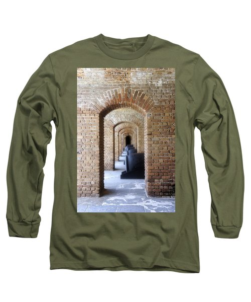 Long Sleeve T-Shirt featuring the photograph Historic Hallway by Laurie Perry