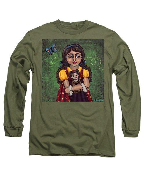 Holding Frida Long Sleeve T-Shirt