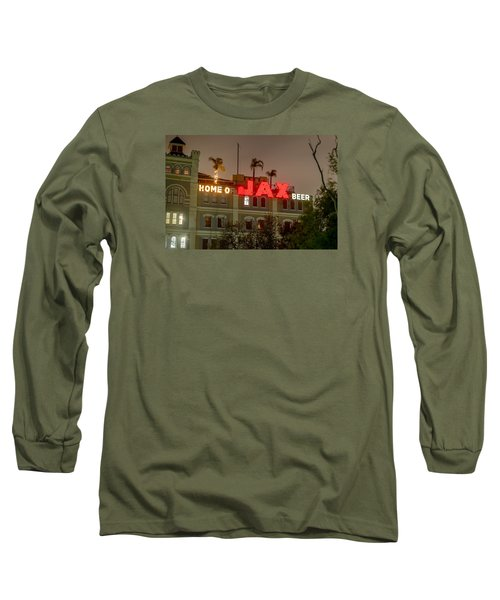 Long Sleeve T-Shirt featuring the photograph Home Of Jax by Tim Stanley