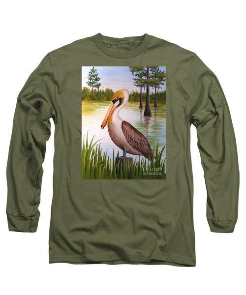 Home On The Bayou  Long Sleeve T-Shirt