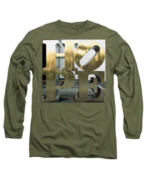 Long Sleeve T-Shirt featuring the photograph Hope Squared by Greg Allore