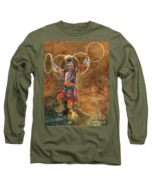 Hopi Hoop Dancer Long Sleeve T-Shirt