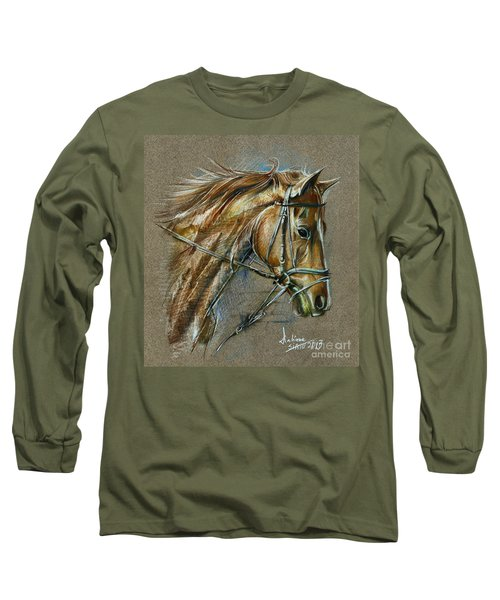 My Horse Face Drawing Long Sleeve T-Shirt