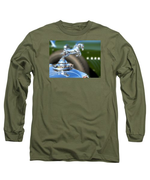 Long Sleeve T-Shirt featuring the photograph Horse Power by Rebecca Davis