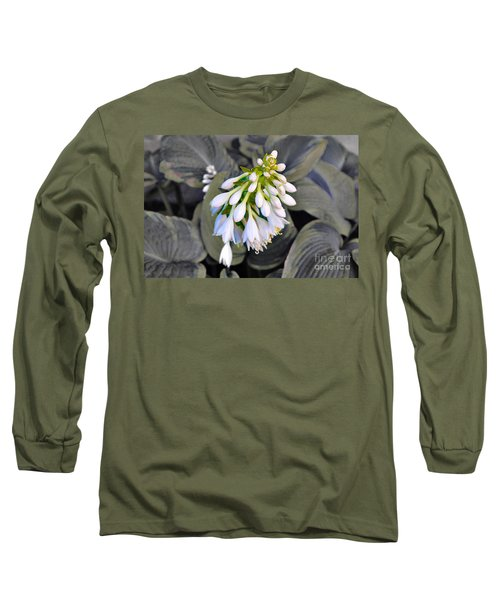 Hosta Ready To Bloom Long Sleeve T-Shirt