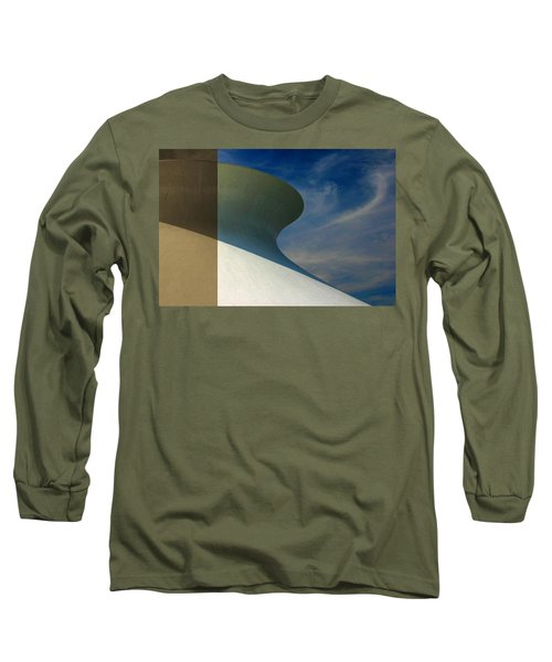 Hourglass Dome Cloud Swirl Long Sleeve T-Shirt