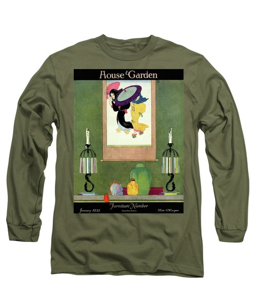House And Garden Furniture Number Long Sleeve T-Shirt
