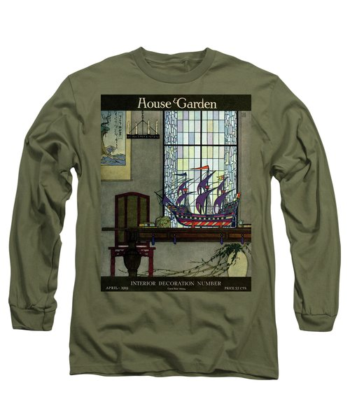 House And Garden Long Sleeve T-Shirt