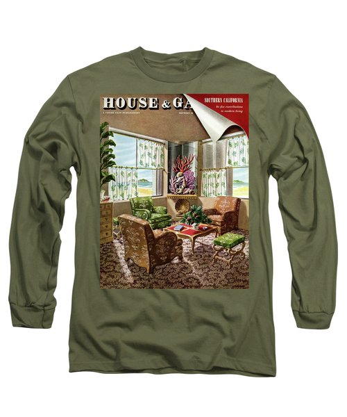 House And Garden Issue About Southern California Long Sleeve T-Shirt