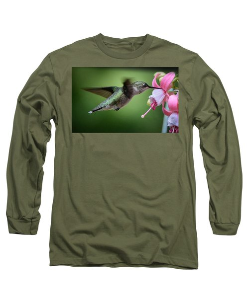 Hummingbird Carbs Long Sleeve T-Shirt