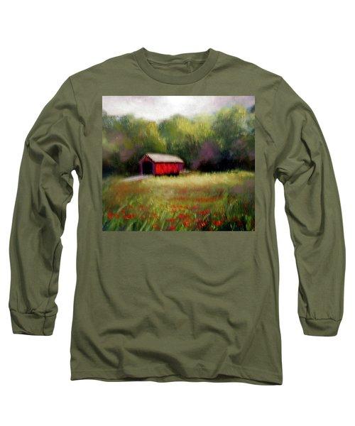 Hune Bridge Long Sleeve T-Shirt by Gail Kirtz