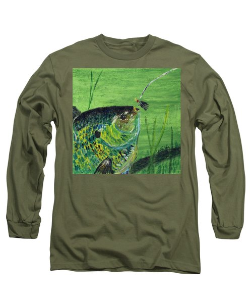 Hungry Bluegill Long Sleeve T-Shirt