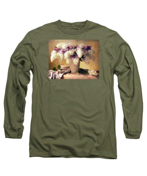 Hydrangea Summer Display Long Sleeve T-Shirt
