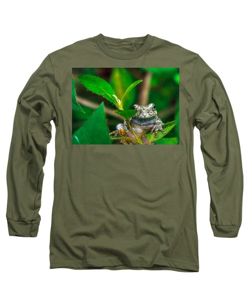 Long Sleeve T-Shirt featuring the photograph Hyla Versicolor by Rob Sellers