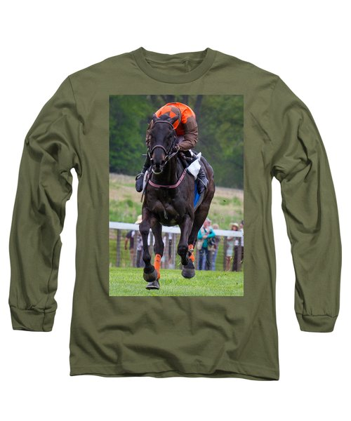 I Just Can't Look Long Sleeve T-Shirt by Robert L Jackson