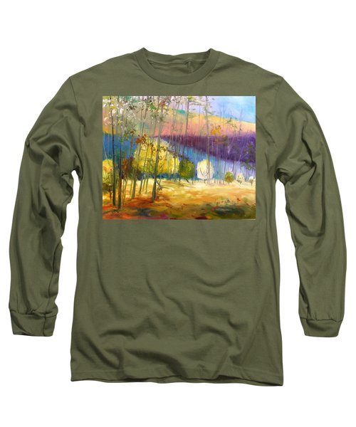 I See A Glow Long Sleeve T-Shirt by John Williams