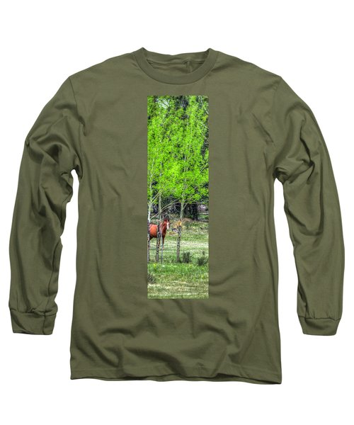I See You 6172 Long Sleeve T-Shirt by Jerry Sodorff