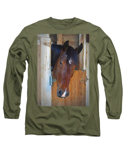 I Was Waiting For You Long Sleeve T-Shirt by Sandi OReilly
