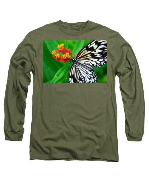Long Sleeve T-Shirt featuring the photograph Idea Leuconoe by Carsten Reisinger