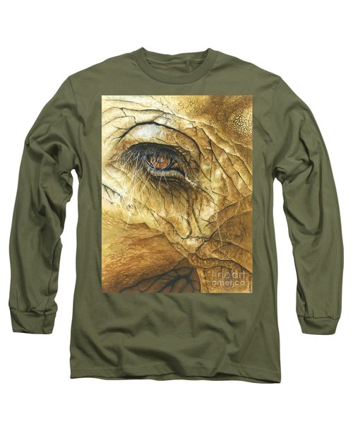If You Could See What I've Seen... Long Sleeve T-Shirt by Barbara Jewell