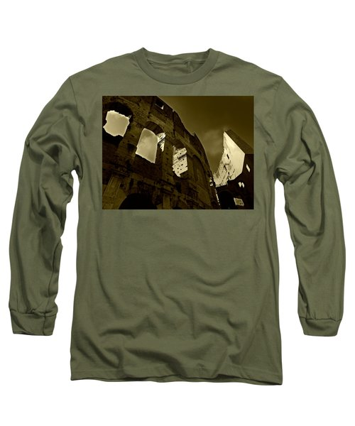 Il Colosseo Long Sleeve T-Shirt by Micki Findlay