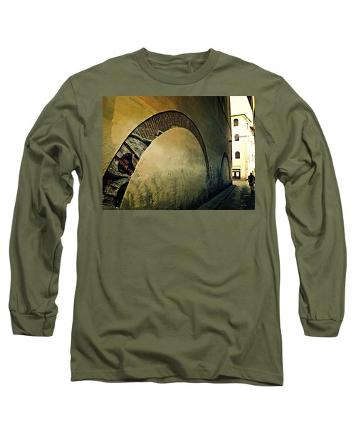 Il Muro  Long Sleeve T-Shirt by Micki Findlay