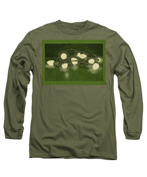 Illumination Variation #1 Long Sleeve T-Shirt by Meg Shearer