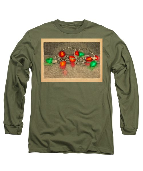 Illumination Variation #4 Long Sleeve T-Shirt by Meg Shearer