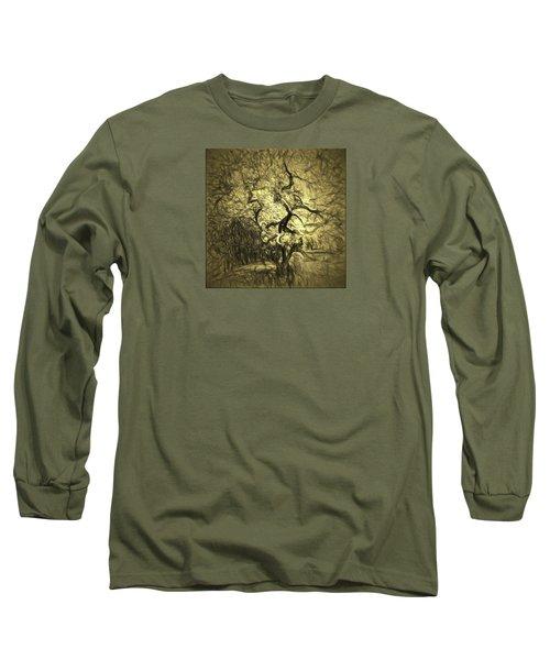 Illusion Tree Long Sleeve T-Shirt