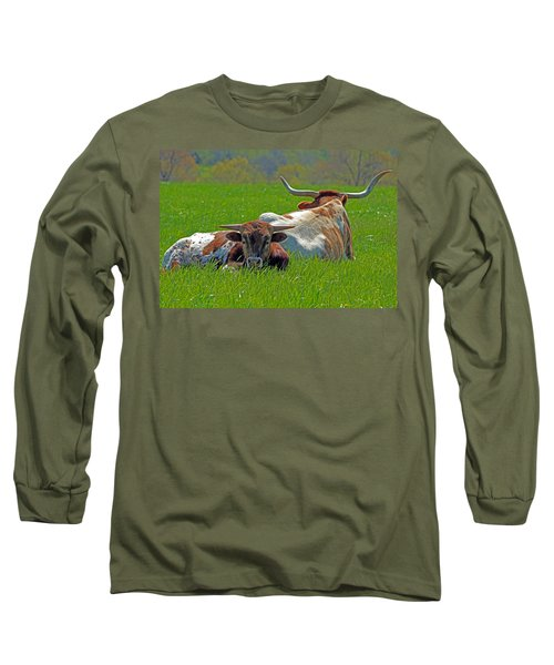 Long Sleeve T-Shirt featuring the photograph I'm Just A Baby by Lynn Sprowl