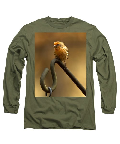 Long Sleeve T-Shirt featuring the photograph I'm Orange by Robert L Jackson