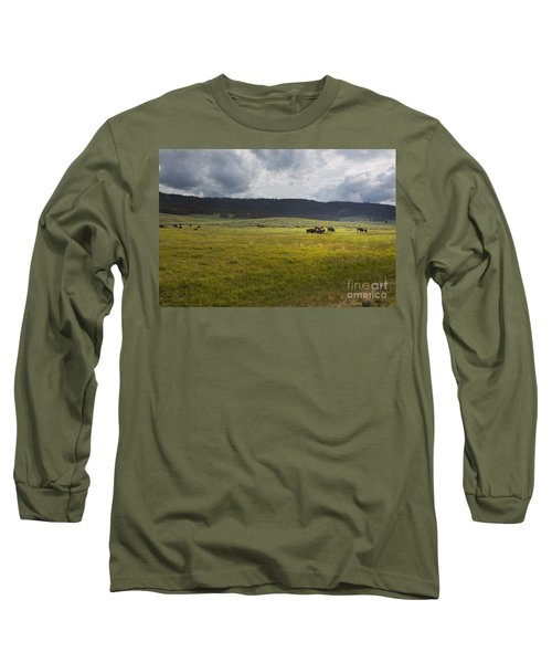 Imagine Long Sleeve T-Shirt by Belinda Greb