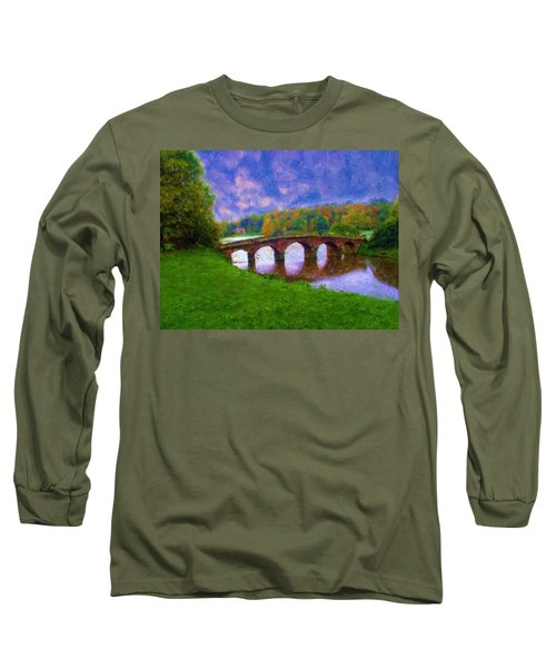 Impressions Of Stourhead Long Sleeve T-Shirt