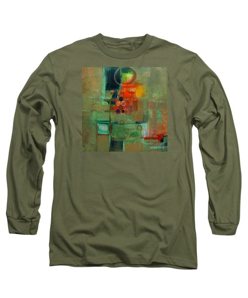 Long Sleeve T-Shirt featuring the painting Improvisation by Michelle Abrams