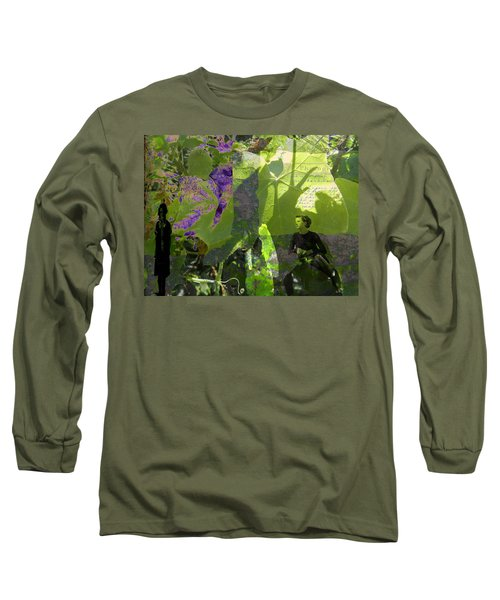 Long Sleeve T-Shirt featuring the digital art In A Dream by Cathy Anderson