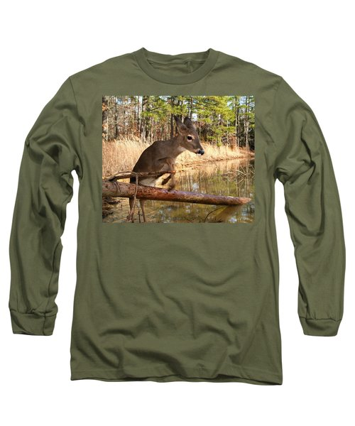 In A Flash Long Sleeve T-Shirt by Bill Stephens