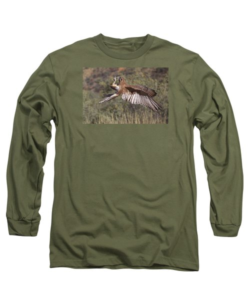 In Flight Meals Long Sleeve T-Shirt by Venetia Featherstone-Witty