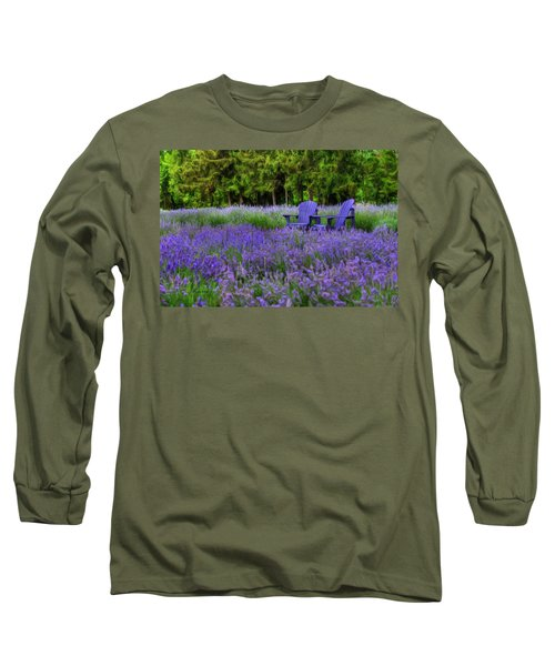 In Lavender Long Sleeve T-Shirt