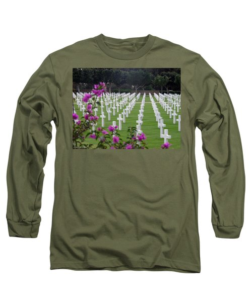 Long Sleeve T-Shirt featuring the photograph In Rememberance by Lucinda Walter
