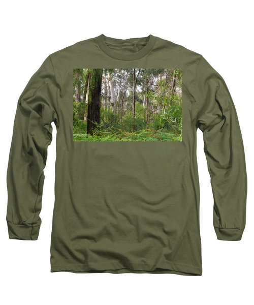 Long Sleeve T-Shirt featuring the photograph In The Bush by Evelyn Tambour