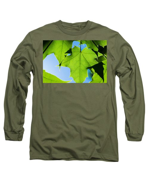 In The Cooling Shade - Featured 3 Long Sleeve T-Shirt by Alexander Senin