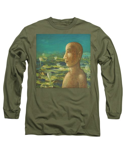 In The Realm Of Buddha Long Sleeve T-Shirt