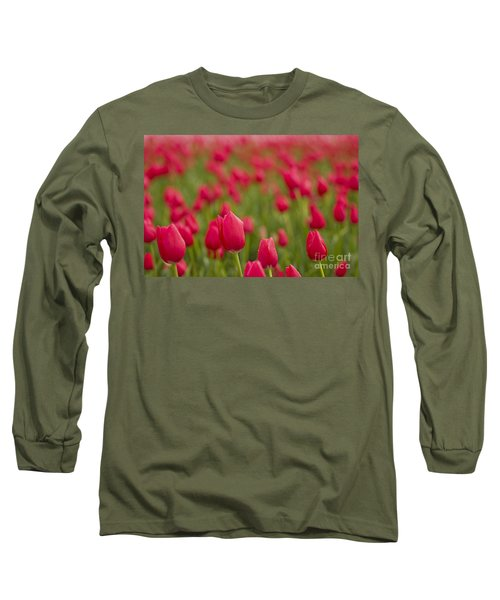 Long Sleeve T-Shirt featuring the photograph Seeing Red by Nick  Boren