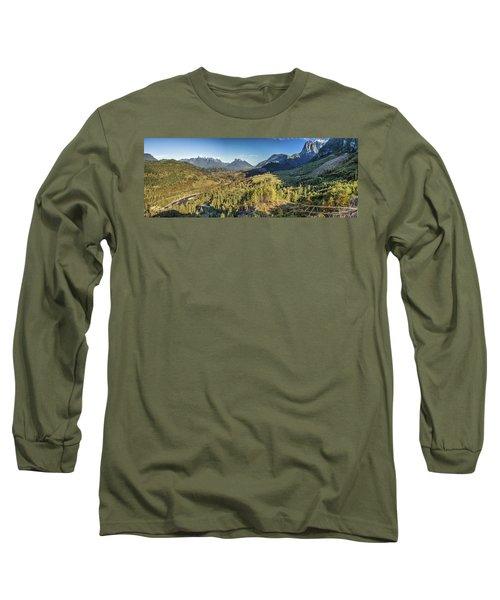 Index Mountains Panorama Long Sleeve T-Shirt