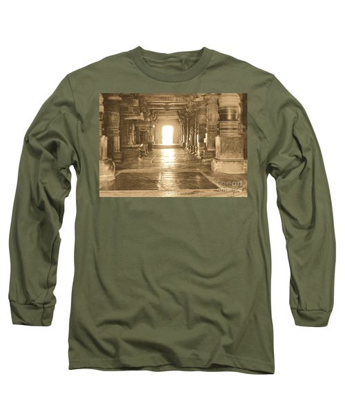 Long Sleeve T-Shirt featuring the photograph Indian Temple by Mini Arora