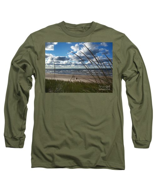 Indiana Dunes' Lake Michigan Long Sleeve T-Shirt