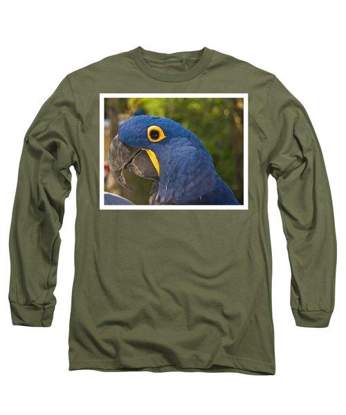 Indigo Macaw Long Sleeve T-Shirt